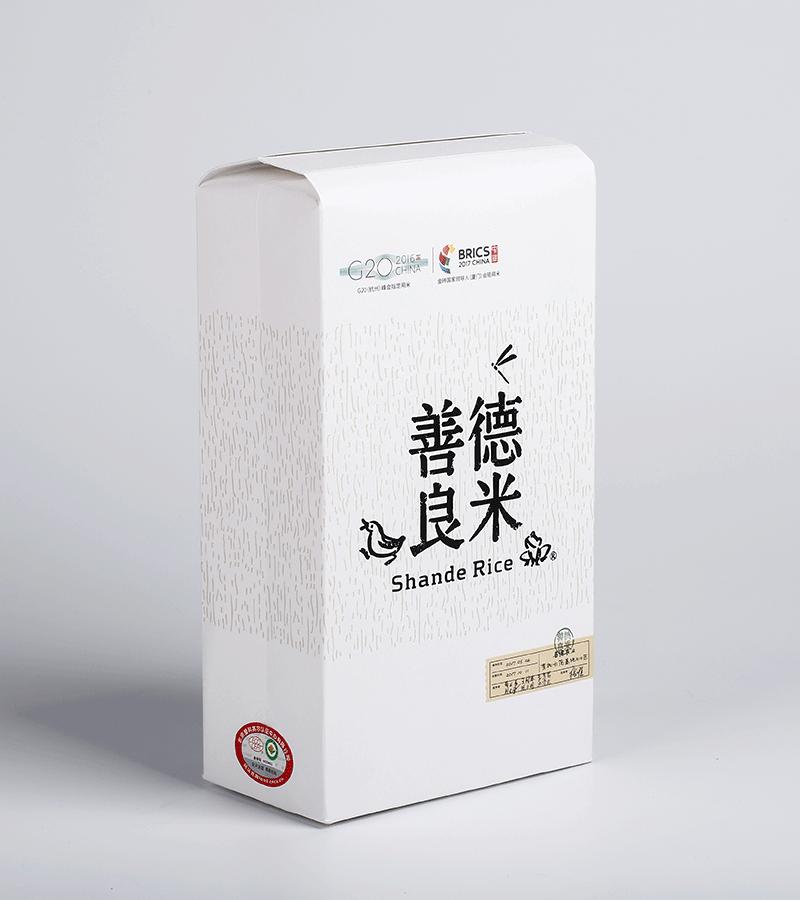 善德良米物喜有机稻花香3年360斤年订购